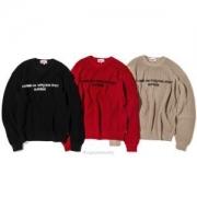 日本未入荷の人気モデル 2019秋冬最重要アイテム 冬ムード プルオーバーパーカーSupreme x Comme des Garons SHIRT Sweater 3色可選