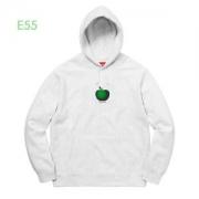 サイズのよさを感じる新作 パーカーSupreme 19AW Apple Hooded Sweatshirt 苹果logo 秋冬仕様なオシャレトレンドブランド 2色可選