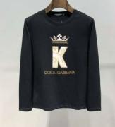 ドルチェ&ガッバーナ Dolce&Gabbana 長袖Tシャツ 2色可選 2019 AWコレクション人気 秋冬仕様なオシャレトレンドブランド