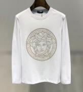 人気2019秋冬トレンドNO1 大人可愛い最新のヘアスタイル ヴェルサーチ VERSACE 長袖Tシャツ 2色可選