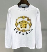 ヴェルサーチ VERSACE 長袖Tシャツ 2色可選 今年の秋冬のオススメのトレンド 2019年秋冬トレンド速報