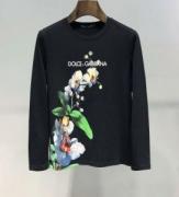 絶妙な秋冬カラーおすすめ ドルチェ&ガッバーナ Dolce&Gabbana 長袖Tシャツ 2色可選 今季特に注目したい2019人気色