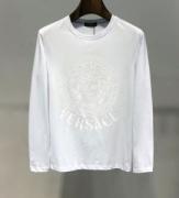 ヴェルサーチ VERSACE 長袖Tシャツ 2色可選 今季も流行のチェック柄おすすめ 新作追加2019-20人気ランキング