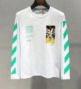 Off-White オフホワイト 長袖Tシャツ 2色可選 2019/20秋冬定番おすすめの1品 クラシカルな雰囲気と抜け感