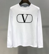 長袖Tシャツ 2色可選 ヴァレンティノ VALENTINO 2019-20秋冬旬な着こなし全部! トレンド傾向おすすめ今季限定