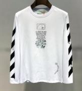長袖Tシャツ 2色可選 毎年根強い人気ブランドおすすめ 2019年の秋冬は鮮やかさ Off-White オフホワイト