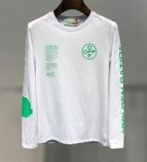 2019年今買う秋冬トレンドはコレ Off-White オフホワイト 長袖Tシャツ 2色可選 今年もトレンド感は流行