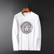2色可選 人気2019秋冬トレンドNO1 大人可愛い最新のヘアスタイル ヴェルサーチ VERSACE 長袖Tシャツ