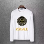 最も着こなしが楽しい季節 4色可選 ヴェルサーチ VERSACE 長袖Tシャツ VIP SALEスタート19/20AW 新作