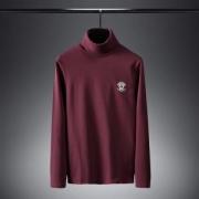 長袖Tシャツ 3色可選 2019-20年人気急上昇中の 甘すぎない可愛さ秋冬コーデ ヴェルサーチ VERSACE