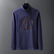 3色可選 お買い得なオススメの秋冬新作 2019-2020年のトレンド秋冬新色 ヴェルサーチ VERSACE 長袖Tシャツ